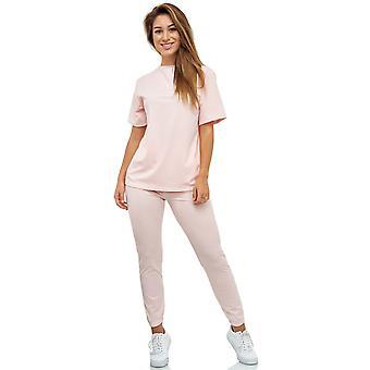 Damen Leggings Sport Anzug Trainingsanzug Set Zweiteiler Jacke Hose Shirt