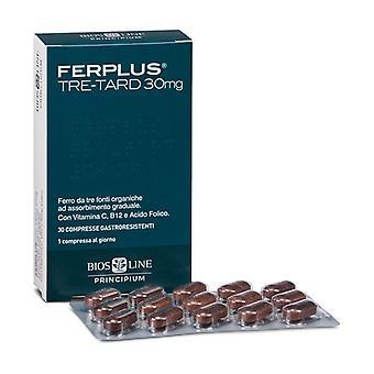Principium FerPlus ثلاثة tard 30 أقراص
