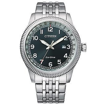 "Mens Watch Citizen BM7480-81L, קוורץ, 43 מ""מ, 10ATM"