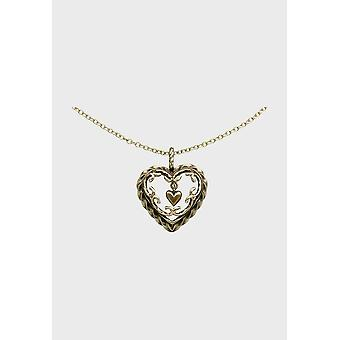 Kalevala Necklace Adjustable 42/45cm Heart of the House Bronze 3265000