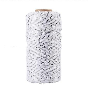 Natural Jute Baker Twine Burlap String Hemp Craft Rope For Cards Wrapping