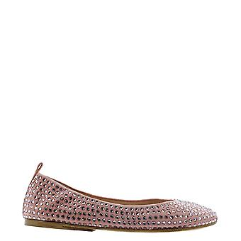 Eddy Daniele Es21600rosa Women's Pink Suede Flats