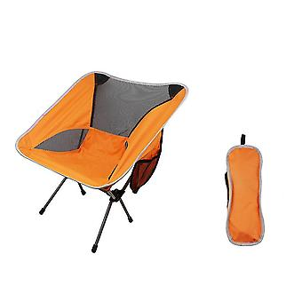 Portable Folding Chair Fishing Camping Chair 600d Oxford Cloth Lightweight Seat
