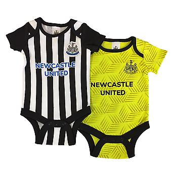 Newcastle United Baby Kit 2 Pack Bodysuits | 2021