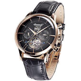 Mens Watch Ingersoll IN1709RBK, Automatic, 44mm, 5ATM