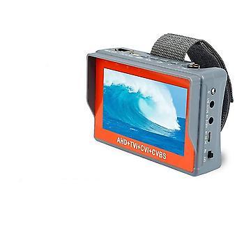 5mp- Caméra de vidéosurveillance, Ahd Tester Monitor, Tvi/ Cvi/ Cvbs Support Utp/ Ptz, Testeur
