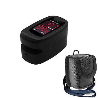 Fingertip Pulse Oximeter Blood Oxygen Saturation Spo2 Heart Rate Monitor