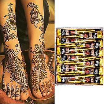 Indian Henna Tattoo Paste Cones For Temporary Tattoo