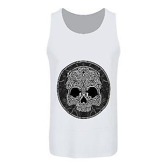 Unorthodox Collective Mens Graphic Skull Vest Top Set