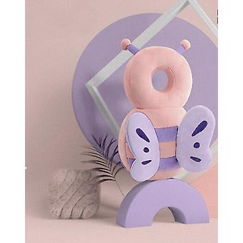 Baby Head Protector, Safety Cushion-unicorn Bee Cartoon Shaped Pillow
