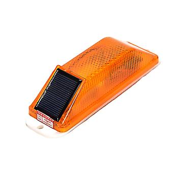Flash Traffic Caution Light, Chip Control Rechargeable, Solar Powered, Led Lamp