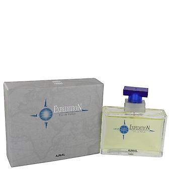 Ajmal Expedition Eau De Parfum Spray By Ajmal 3.4 oz Eau De Parfum Spray