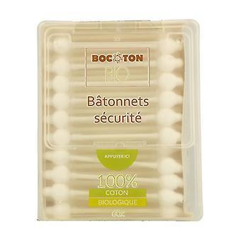 Sticks Ear Children Safety Cotton Bio 60 units