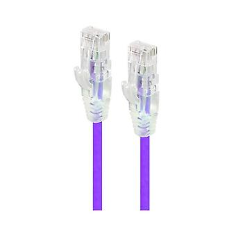 Alogic 30Cm Purple Ultra Slim Cat6 Network Cable