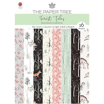 The Paper Tree - Forest Tales Collection - A4 - Backing Papers
