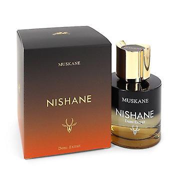 Muskane Extrait De Parfum Spray By Nishane 3.4 oz Extrait De Parfum Spray