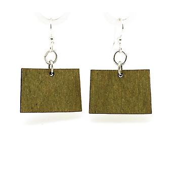 Colorado State Earrings - S006