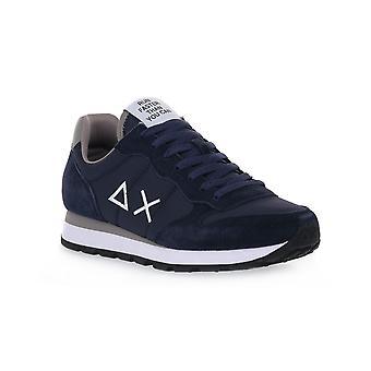 Sun68 07 tom solid nylon navy blue sneakers fashion