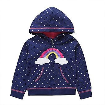 Baby Spring Dinosaur Cartoon Hooded Cute Outwear Sweatshirt