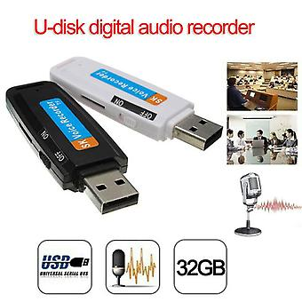 Mini u-disk digital audio recorder usb 3.0 flash drives maximum support 32gb memory card