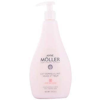 Anne Möller ansigt og Eye Make-Up Remover mælk 400 ml