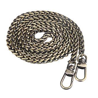 47.24inch Iron Antique Brass Cross body Handbag Chains Strap Repair Part