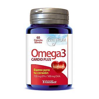 Cardio Plus Omega 3 - Zentrum 60 capsules