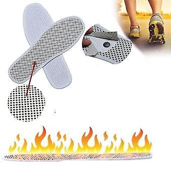 1 زوج حذاء التدفئة الذاتية، العلاج المغناطيسي النعال، المضادة للتعب، تدليك
