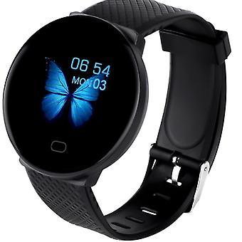 D19 Moniteur de santé de remise en forme de la pression artérielle Bluetooth Smartwatch