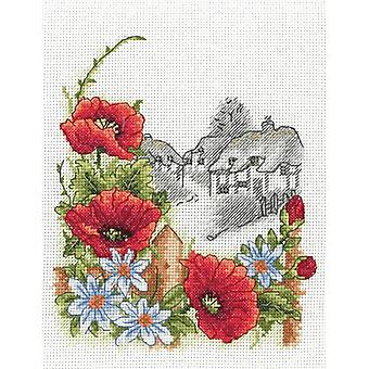 Anchor Cross Stitch Kit: Summer Days (Poppies)