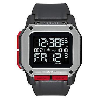 Nixon digital klokke for menn med syntetisk stropp A1180-008-00