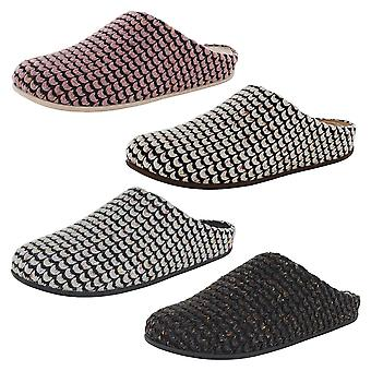 Fitflop Femmes Chrissie Knit Slipper Shoes
