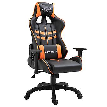 vidaXL Gaming Stoel Oranje Faux Leather