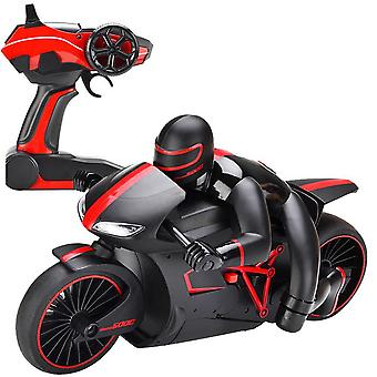 Mini Rc Motorcycle With Cool Light, Motorbike Model Toy, Remote Control Drift