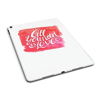 """All You Need Is Love Full Body Skin For The Ipad Pro (12.9"""" Or 9.7"""""""