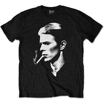 David Bowie Smoke Official Tee T-Shirt Unisex