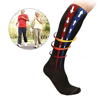 MYCARE+ 2 pairs of compression socks, compression stockings for sports, stimulation of blood circulation through light pressure