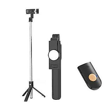 Wireless Bluetooth 4.0 Selfie Stick with Tripod for Phone Selfie Vlog Live(Black)