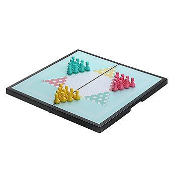 Swotgdoby Portable Magnetic Chinese Checkers Board, Classic Game For Kids And Adults