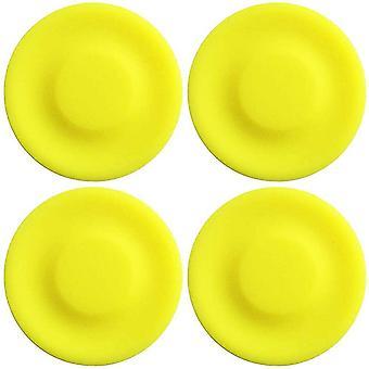 Mini Frisbee Mini fliegende Scheibe Handheld Ufo weiche Eva Spielzeug Elternkind - 4pcs