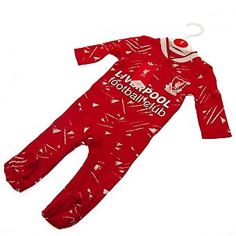Liverpool FC Baby Retro Schlafanzug