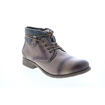 Earth Adult Womens Rexford Tie Boot Ankle & Booties Boots