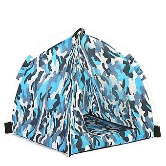 """נייד חיות מחמד אוהל כלב בית הסוואה מיטת כלב נושם בחוץ כלב כלב כלב 45x45 ס""""מ חתול"""