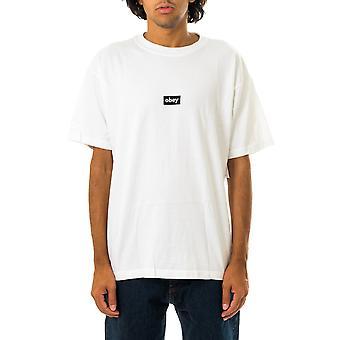 T-shirt uomo obey black bafr heavyweight tee 166912615.wht
