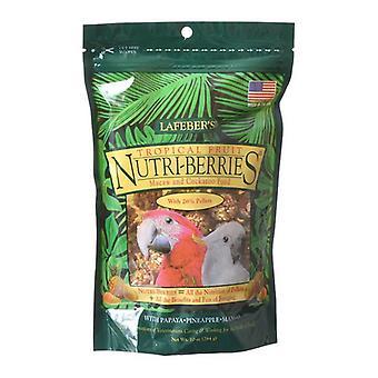 Lafeber Tropical Fruit Nutri-Berries Macaw & Cockatoo Food - 10 oz