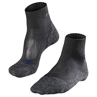 Falke Trekking 2 mittlere kurze coole Socken - dunkelgrau