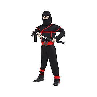 Kids Ninja jelmez Halloween jelmezek Fiúk (120cm-130cm)