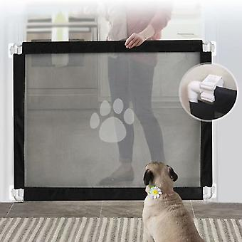 Huishoud huisdier isolatienet, eenvoudig te installeren om honden uit de buurt van de keuken te houden, boven C