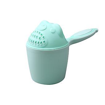 Baby Spoon Shower Baño Agua Natación Bailer Shampoo Cup Productos infantiles