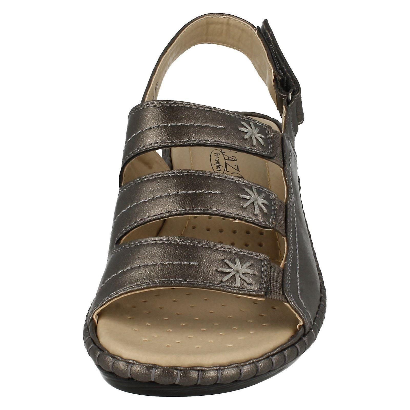 Ladies Eaze Komfort Kile Sandaler